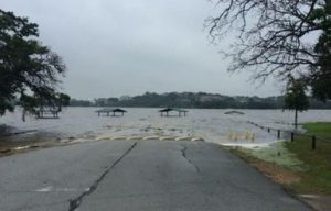 High waters have left many parks and low-lying areas in SW Denton County swamped (Photo: Monica Wicket)