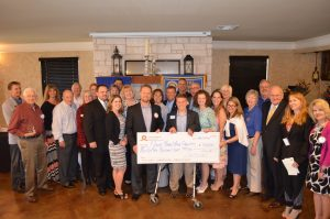 The Flower Mound Rotary Club presented 17 local nonprofits with $35,000 in grant money,