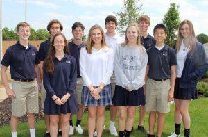 Liberty Christian 2015 merit students