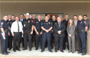 Area police chiefs recommit to Children's Advocacy Center of Denton County.