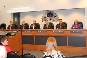 The Cross Timbers Gazette 2015 Candidate Forum at Flower Mound Town Hall (Photo by Dawn Cobb)