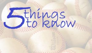 5 things to know 5