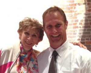 Dr. Edie Eger and Chad Hennings