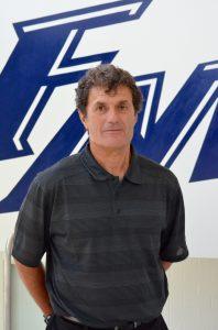 Misail Tsapos Flower Mound High School  girls' head soccer coach.