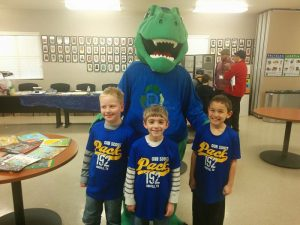 Jonathan Lange, Connor White and Judge Bethel of Argyle Cub Scout Pack 192 visit City of Denton ECO-W.E.R.K.S for Scout Day.