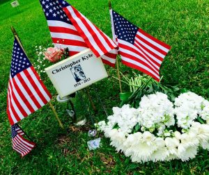 The Town of Flower Mound is discussing honoring the widow of American sniper Chris Kyle (Photo: Facebook/HonorChris Kyle)